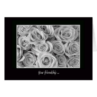 Will You Be My Bridesmaid? Card -- Roses