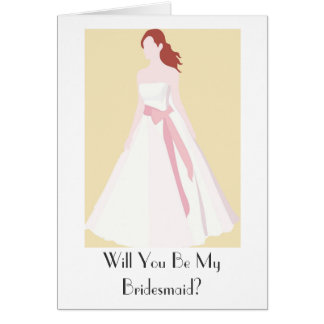 Will you be my bridesmaid card - Wedding Accessory