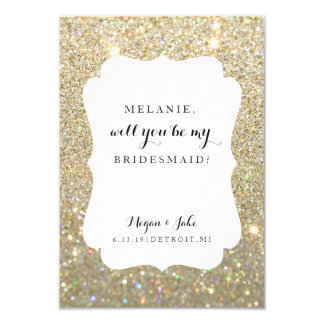 Will You Be My Bridesmaid Card - Wedding Day Fab