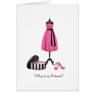 Will you be my Bridesmaid - Chic Card