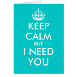 Will you be my bridesmaid Keep calm greeting cards