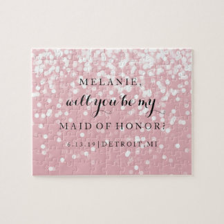 Will You Be My Bridesmaid-MOH Puzzle - Sparkling P