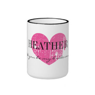 Will you be my bridesmaid mug for cousin or sister