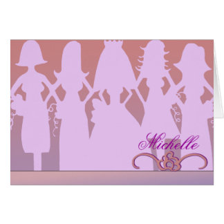 Will you be my bridesmaid note card
