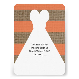 Will You Be My Bridesmaid Poem Invitations Coral