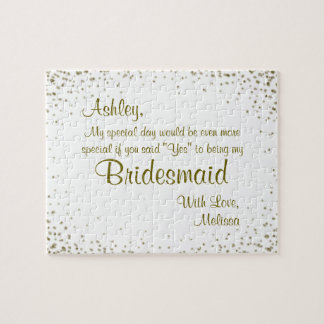 Will You Be My Bridesmaid? Puzzles