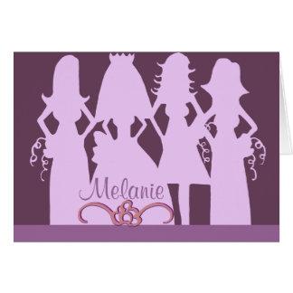 Will you be my bridesmaid three card