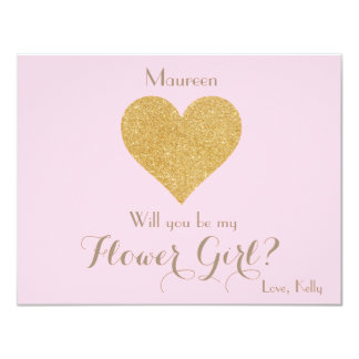 Will you be my Flower Girl? Card
