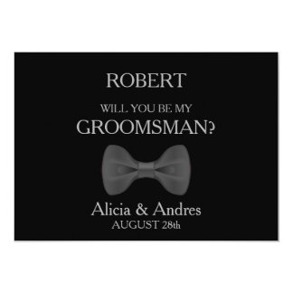 Will you be my Groomsman? Card