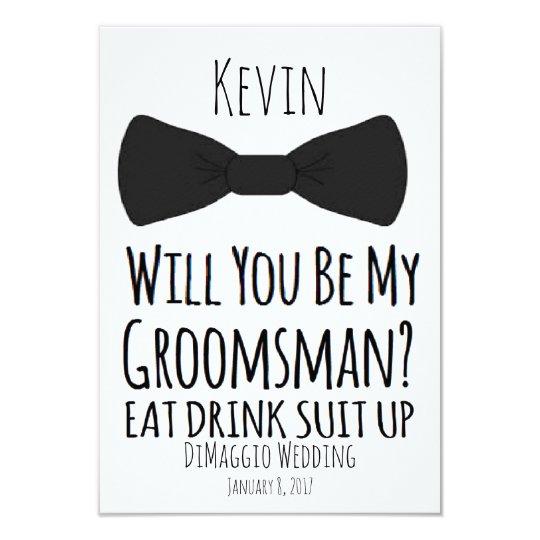 Will you be my groomsman groomsmen wedding invite zazzle will you be my groomsman groomsmen wedding invite junglespirit Image collections