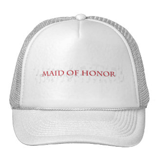 Will you be my maid of honor? trucker hats