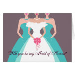 Will you be my Maid of Honour? Bridal Party (pool)