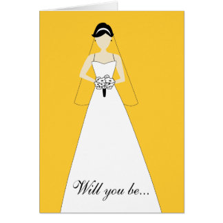 Will You Be My Maid of Honour? Yellow Card