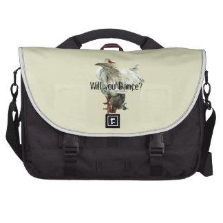 Will you Dance? Laptop Shoulder Bag