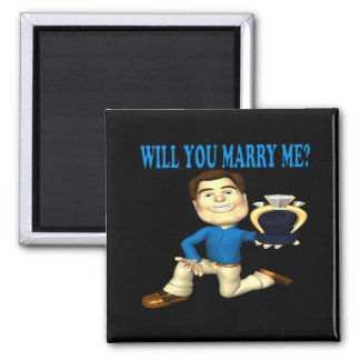 Will You Marry Me 4 Refrigerator Magnet