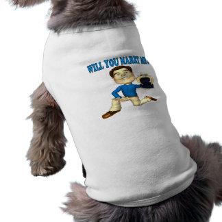 Will You Marry Me 4 Sleeveless Dog Shirt