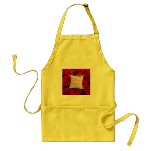 Will you Marry Me Apron