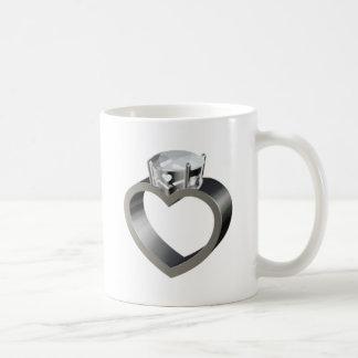 Will you marry me? basic white mug