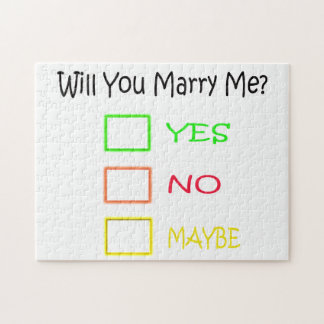 Will You Marry Me by Shirley Taylor Jigsaw Puzzle