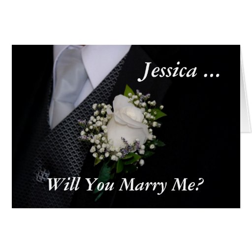 Will You Marry Me Cards