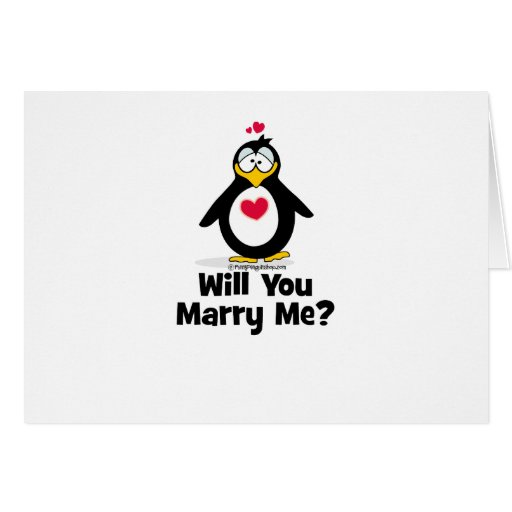 Will You Marry Me Greeting Cards