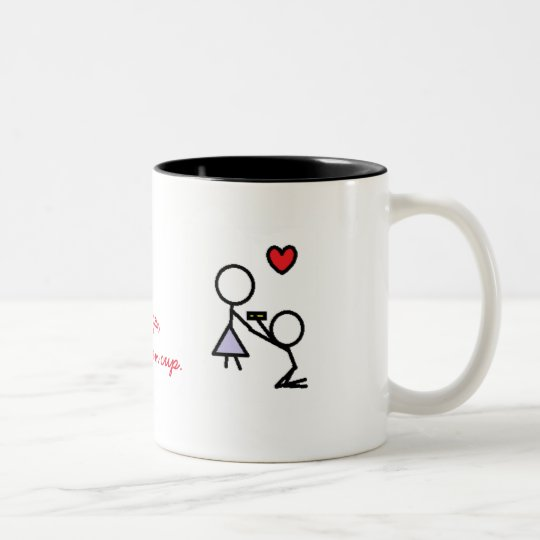 Will You Marry Me Coffee Cup