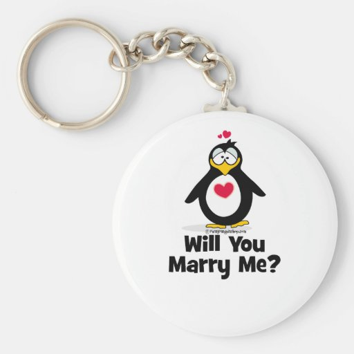 Will You Marry Me Key Chains