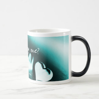 Will You Marry Me Morphing Mug in Bright Blue