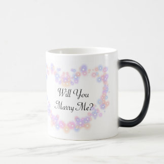 Will You Marry Me Morphing Mug Pastel Heart