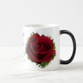 Will You Marry Me Morphing Mug Red Rose