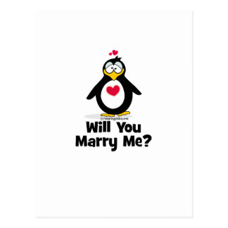 Will You Marry Me Postcard