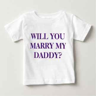 """WILL YOU MARRY MY DADDY"" - Child's T-Shirt"
