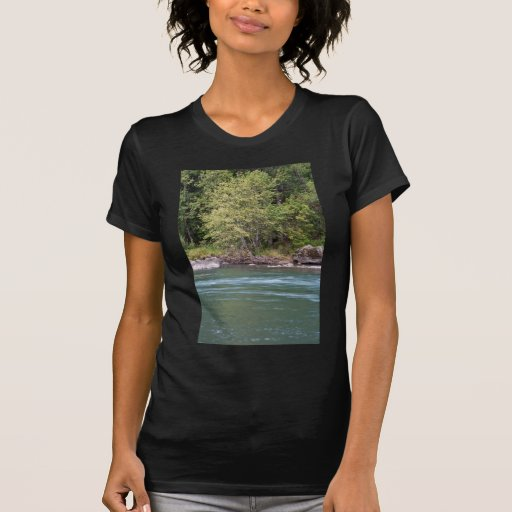 Willamette River at Black Canyon Campground Tee Shirt