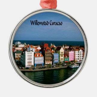 Willemstad Curacao Christmas Ornament