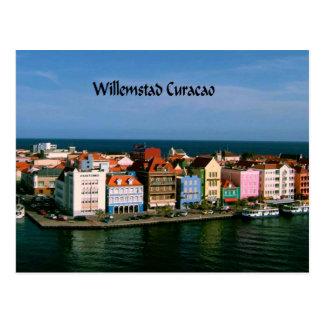 Willemstad Curacao Postcard