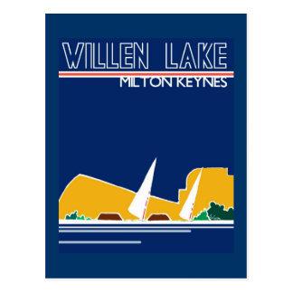 Willen Lake MK postcard