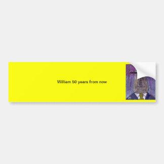 William 50 years frm bumper sticker