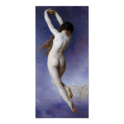 William-Adolphe Bouguereau-Lost Pleiad Poster