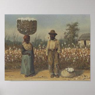 William Aiken Walker (1838-1921)  The Cotton Field Poster