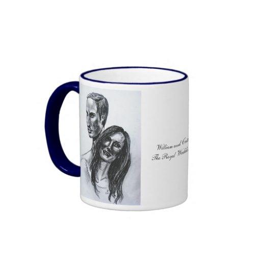 William and Catherine Mug