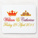 William and Catherine Royal Wedding Mouse Pads