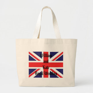 William and Kate Large Tote Bag