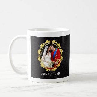 William and Kate Royal Wedding Kiss Coffee Mug