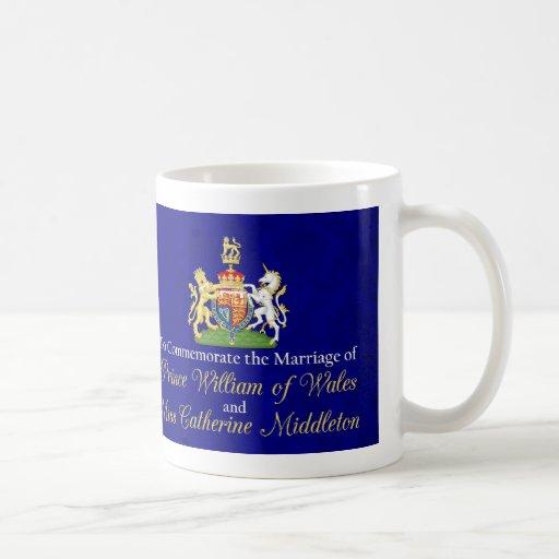William and Kate Royal Wedding Kiss Mugs