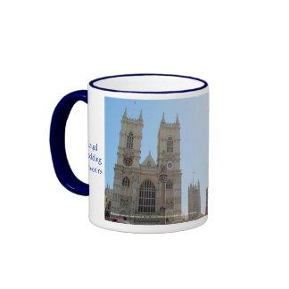 William and Kate Royal Wedding Souvenirs Ringer Mug