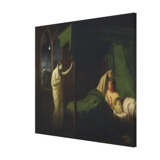 William and Margaret from the 'Reliques of Ancient Canvas Print