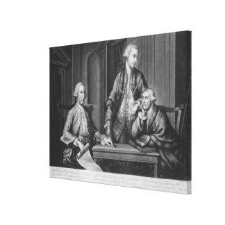 William Beckford  James Townsend Canvas Print