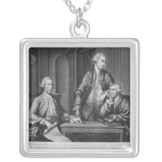 William Beckford  James Townsend Silver Plated Necklace