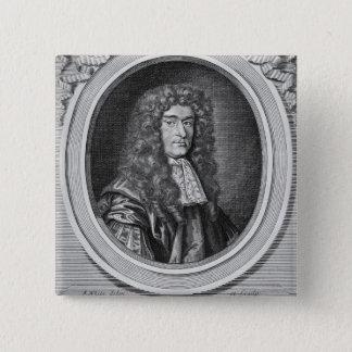 William Bedloe 15 Cm Square Badge