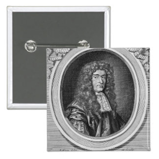 William Bedloe 15 Cm Square Badge